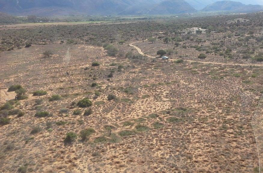 Large scale rehabilitation works on hillsides in the Baviaanskloof through the creation of extensive ponding systems on community owned farm Sewefontein.